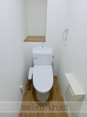 【トイレ】カーナビル