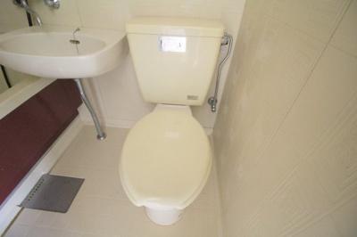 【トイレ】クレセントマンション