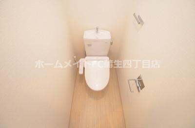【トイレ】レジュールアッシュOSAKA今里駅前