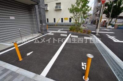 【駐車場】レジュールアッシュOSAKA今里駅前