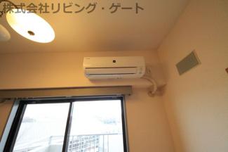 エアコンも新しい