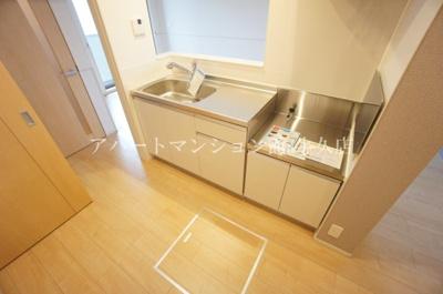 【キッチン】アルカディアⅥ