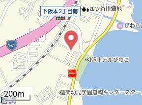 【地図】Beside LakeBiwa
