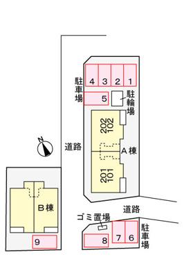 【地図】ダンデ ライオンB