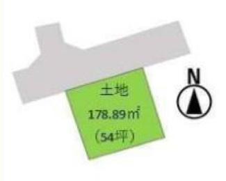 【土地図】高崎市乗附町 売地