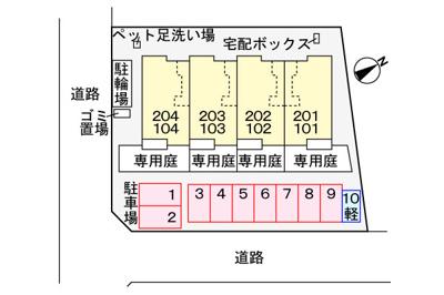 【区画図】ベル ナチュレ