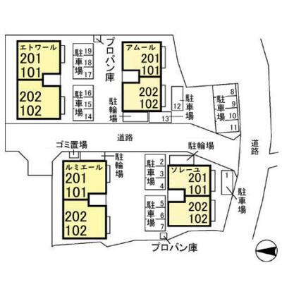 【地図】クリスタルソレーユ