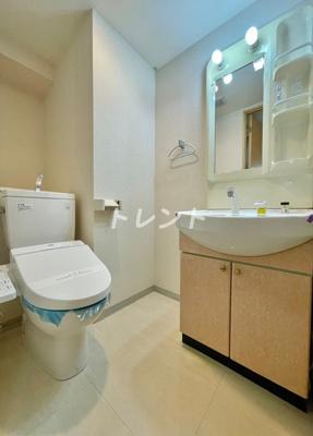 【トイレ】アムス四谷三丁目