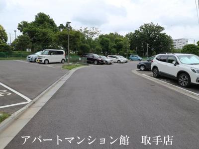 【駐車場】戸頭団地