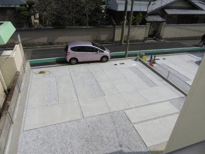 【駐車場】箕面市桜井1丁目 新築戸建 1号棟
