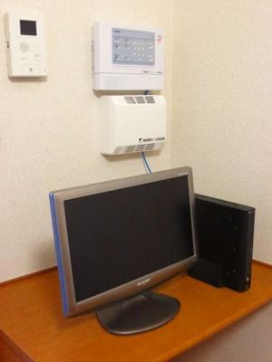 テレビ・モニター付きインターフォン・セキュリティー
