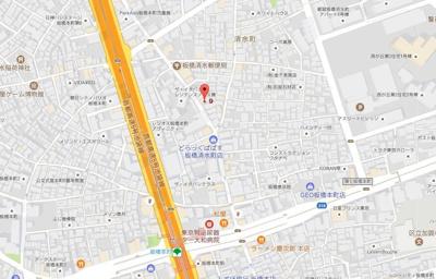 【地図】AZEST板橋本町