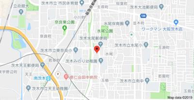 【地図】平尾ハイツ