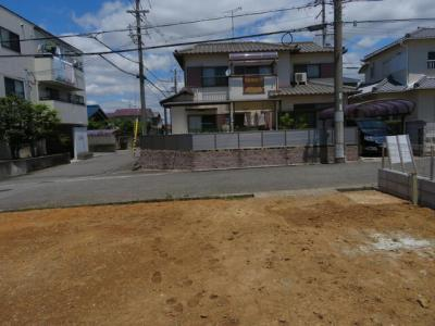 【前面道路含む現地写真】神戸市西区上新地2丁目 新築戸建