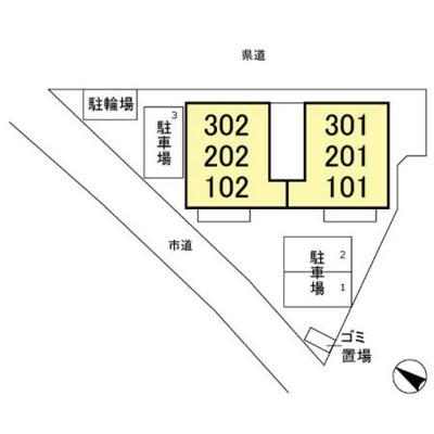 【区画図】メゾン アプリコット