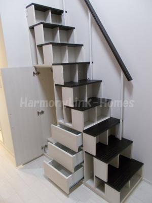 ハーモニーテラス清水町の収納階段☆