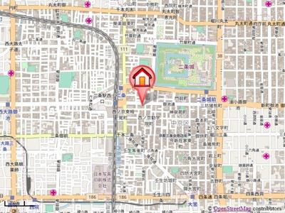 【地図】RAN-NIJO
