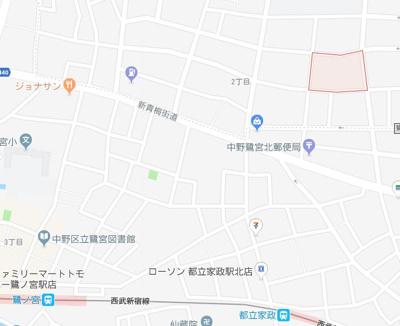 【地図】テノムハウスデラックス