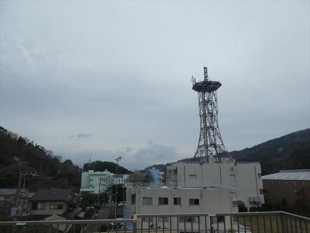 屋上バルコニーからの眺望
