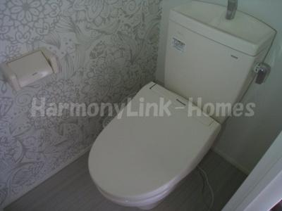 ハーモニーテラス志茂Ⅲのトイレ
