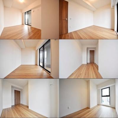 洋室、角度別のそれぞれの写真です。