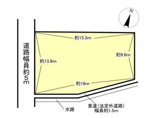 【土地図】近江八幡市船木町 売土地