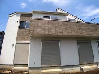 敷地は実測で約47坪と広く建物は述べ約34坪と広いプランです。