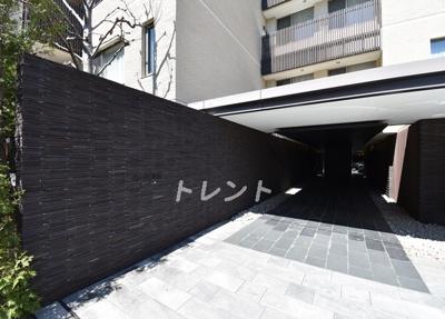 【エントランス】ガーデン高輪