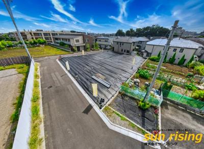 【外観】東大和市芋窪6丁目 建築条件付売地 全4区画 NO1