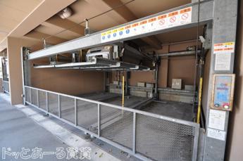機械式駐車場、高さ制限1550