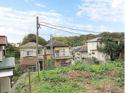 【展望】鎌倉市関谷 売地