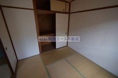 【寝室】福寿山マンション