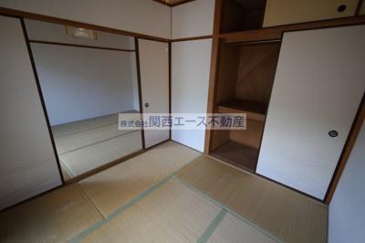 【居間・リビング】福寿山マンション