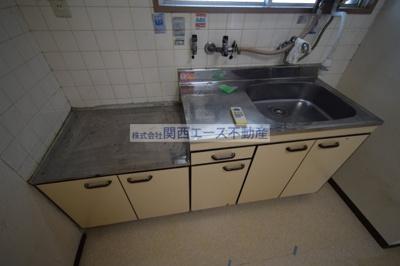 【キッチン】福寿山マンション