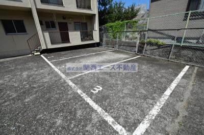 【駐車場】福寿山マンション