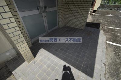 【エントランス】福寿山マンション