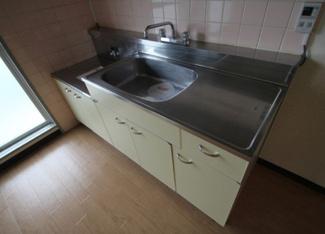 【キッチン】《高稼働!RC造9.98%》土浦市真鍋新町一棟マンション