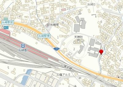 【地図】糸崎6丁目 売土地