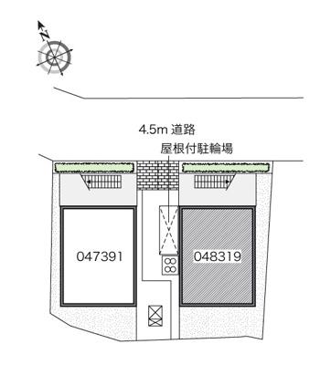 【地図】サニーコートアカシB