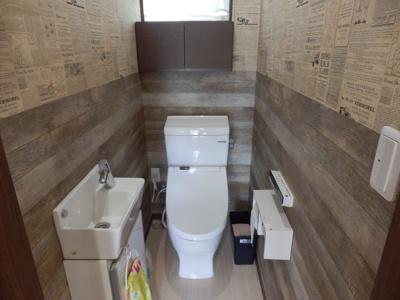 【トイレ】常楽中古住宅 A邸