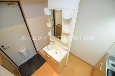 【独立洗面台】おおきに今福サニーアパートメント