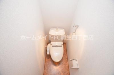 【トイレ】おおきに今福サニーアパートメント