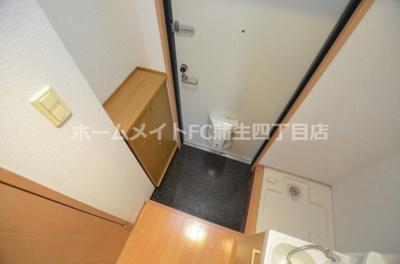 【玄関】おおきに今福サニーアパートメント