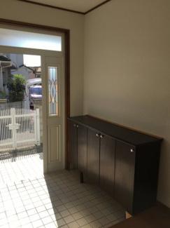 【玄関】松山市 吉藤 中古住宅 30.37坪