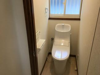 【トイレ】松山市 吉藤 中古住宅 30.37坪