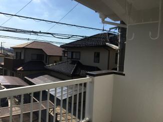 【バルコニー】松山市 吉藤 中古住宅 30.37坪