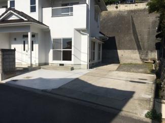 【駐車場】松山市 吉藤 中古住宅 30.37坪