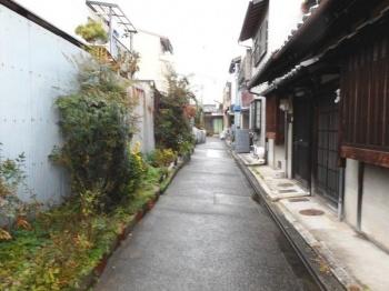 【前面道路含む現地写真】上京区東竪町