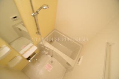 【浴室】ハピネス福島