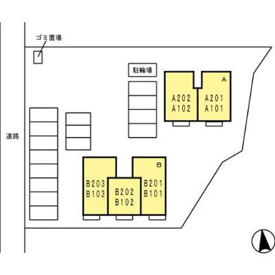 【区画図】エスペランサ/ラントレーベン ラントレーベン